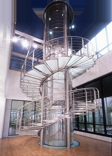 Ascensori personalizzati panoramici in vetro su misura for Dimensioni ascensore
